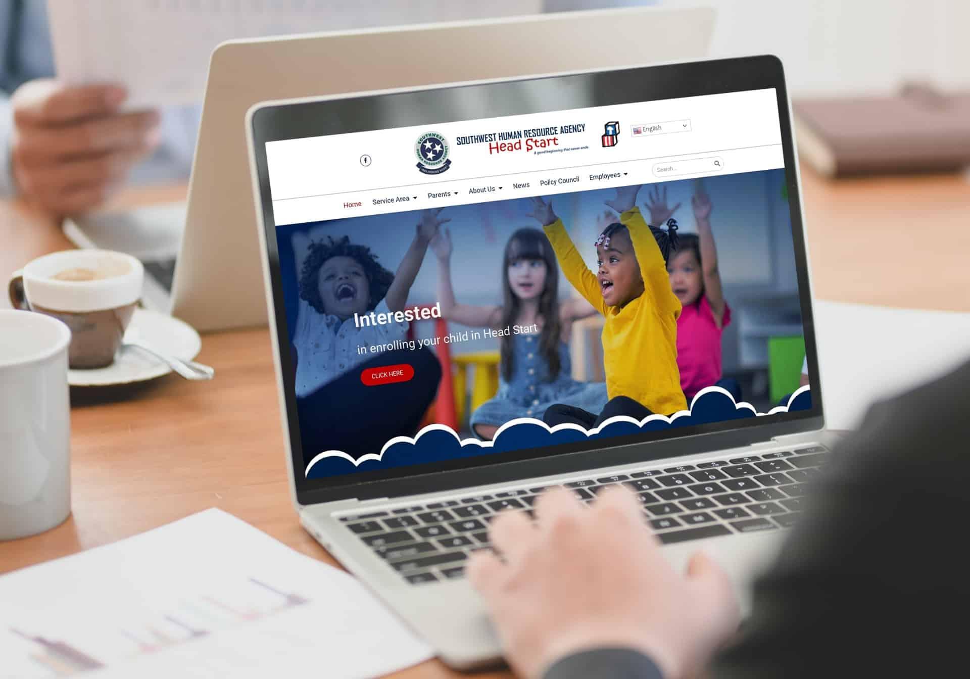 Website Developed Non Profit (Head Start)